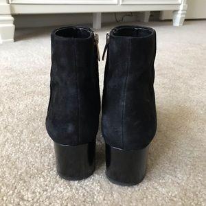 Sam Edelman Shoes - 🍃SAM EDELMAN🍃 Edith Bootie Black Suede 7.5 M